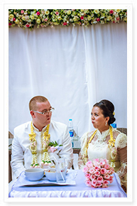 simple thai wedding decor phuket