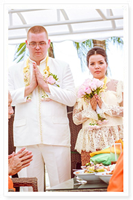 simple thai wedding decoration phuket