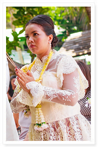 traditional thai wedding ceremony phuket