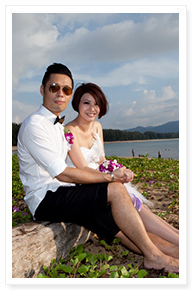 wedding on the beach phuket