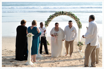Phuket wedding on the beach, Thailand